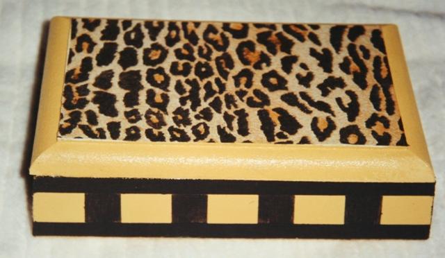 Caixa leopardo