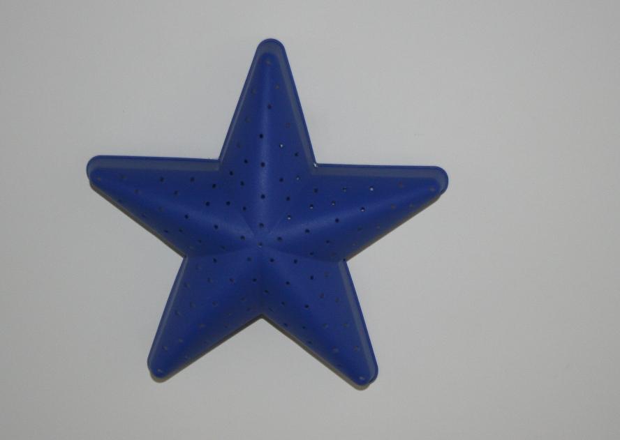 candeeiro em forma de estrela
