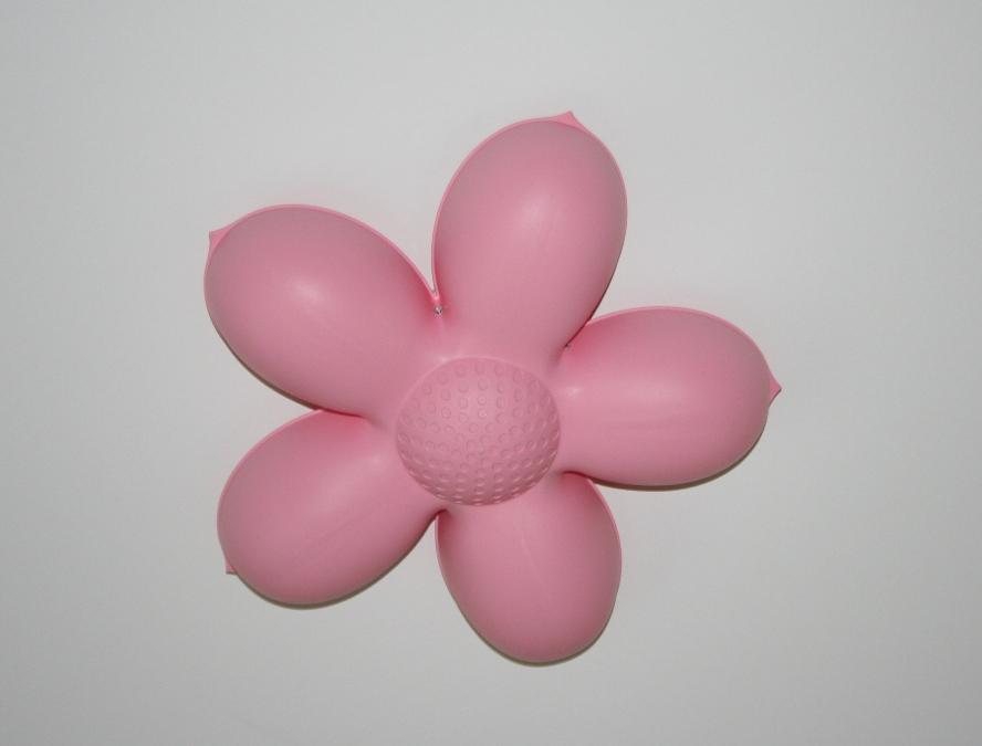 candeeiro em forma de flor