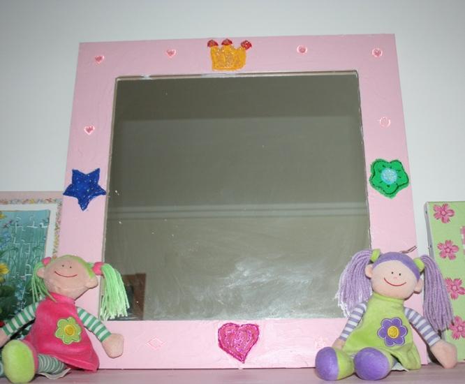 Espelhos para quarto de crianças