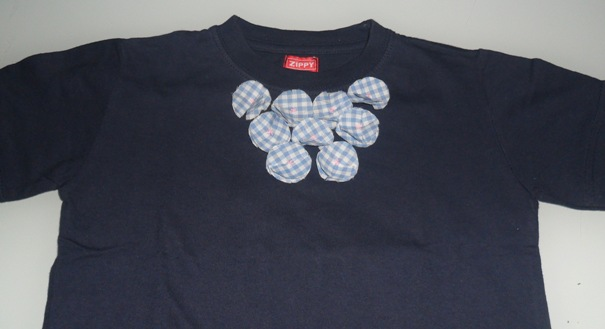 Fazer aplicações numa t-shirt